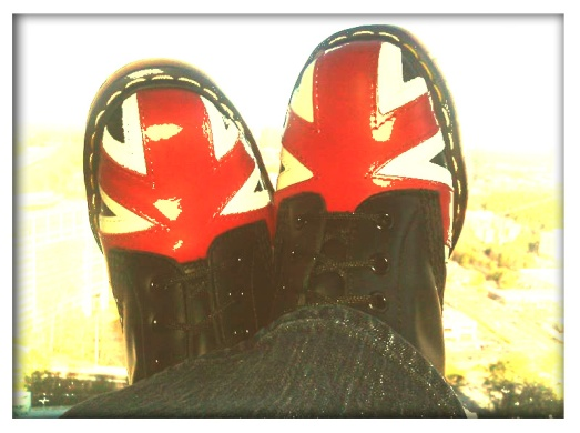 Union Jack Doc Martens