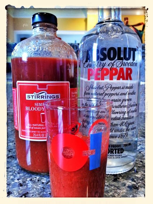 Stirrings + Absolut Peppar