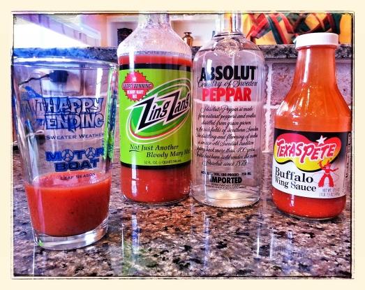 Zing Zangs + Abolute Peppar + a lil' Texas Pete's