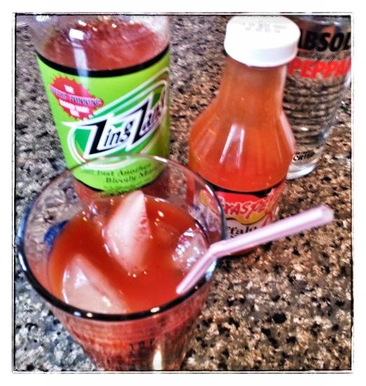 Zing Zang + Absolut + Texas Pete + Ice